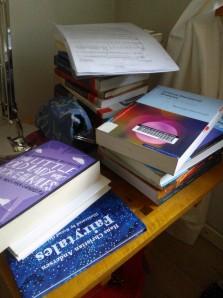 No bookshelf